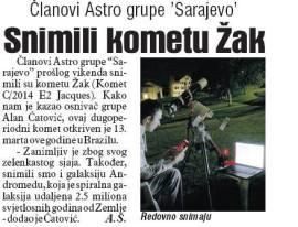Dnevni avaz, 06.09.2014.