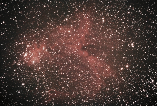 Heart nebula (IC 1805, Sharpless 2-190)