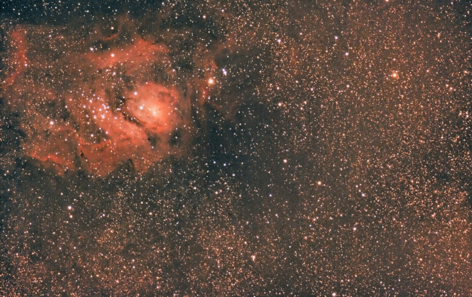 M8 (Lagoon nebula)