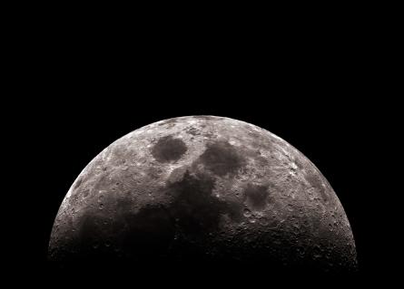 Moon, first quarter