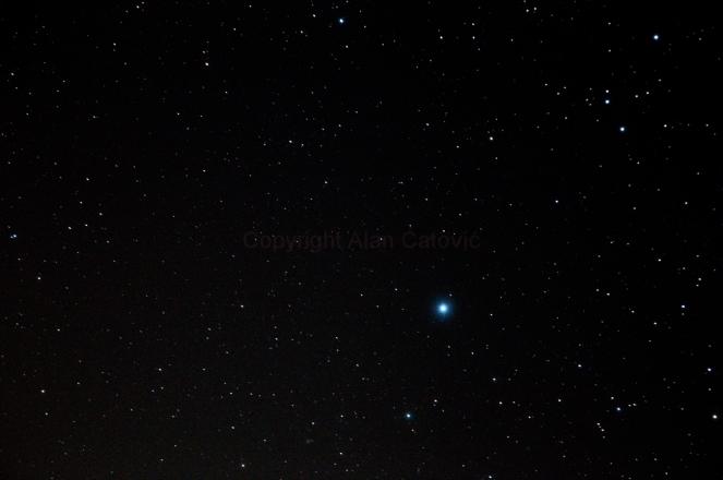 star Alkaid (Eta Ursae Majoris)