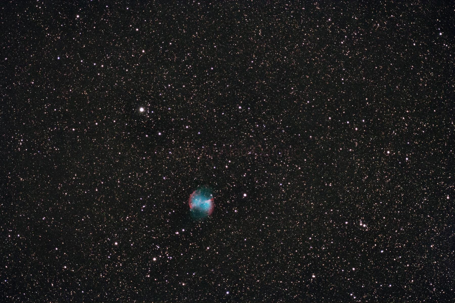 The Dumbbell Nebula (Messier 27)