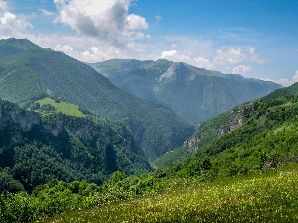Canyon of river Rakitnica