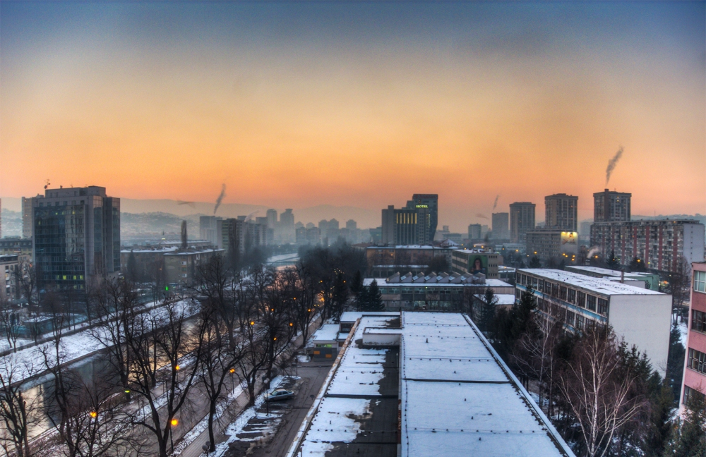 Sarajevo-sunset