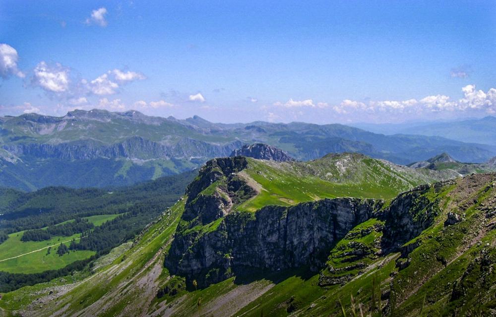 View from peak Vito