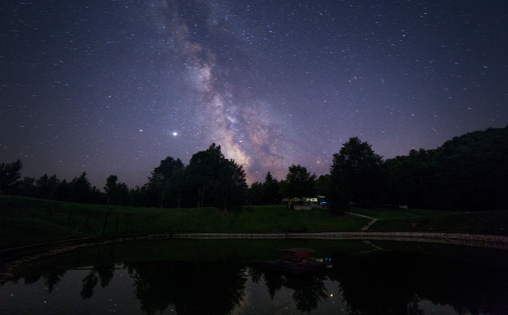 Mlijecni nova kod jezera-manja
